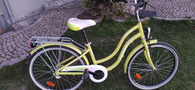 Rower Maxim mk4.6 limonkowy w bdb stanie