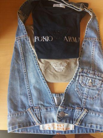 Colete Pepe Jeans e 2 Sweters Empório Armani