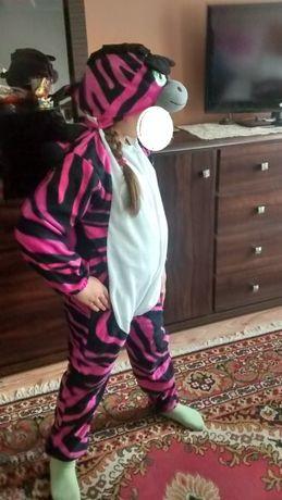 Strój przebranie kostium Zebra Andrzejki