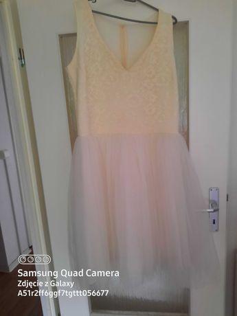 Sukienka ślubna ecri
