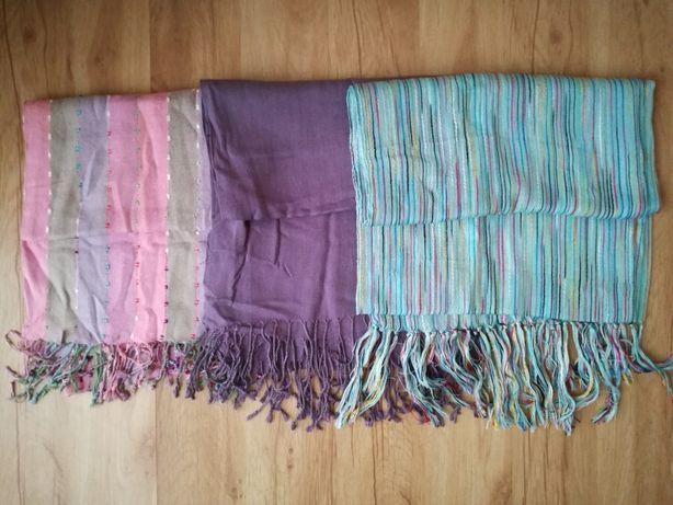 Zestaw bawełnianych szalików
