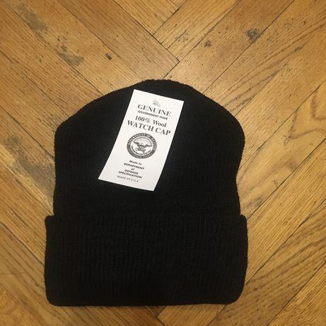 Зимняя шерстяная шапка Армии США made in USA