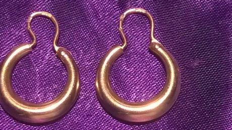 Золотые серьги(4.6гр)советские.