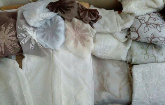 Куски ткани, ласкутки остатки. Обмен