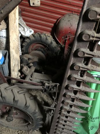 Kosiarka konna z dyszlem do traktora
