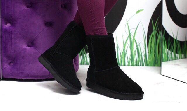 Зимние угги уггі сапоги ботинки жіночі зимові