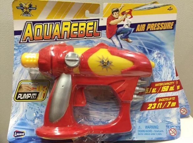 Водный Пистолет Lanard - AquaRebel Струя 7 М. Оригинал Из США!