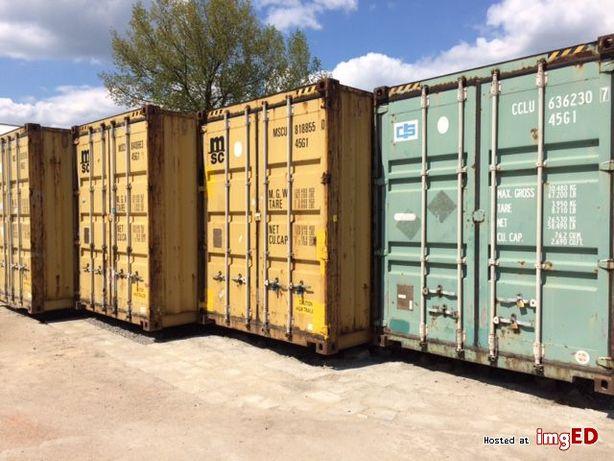 Magazyn w kontenerze samoobsługowy self storage 30m2 Górczyn, Śródka
