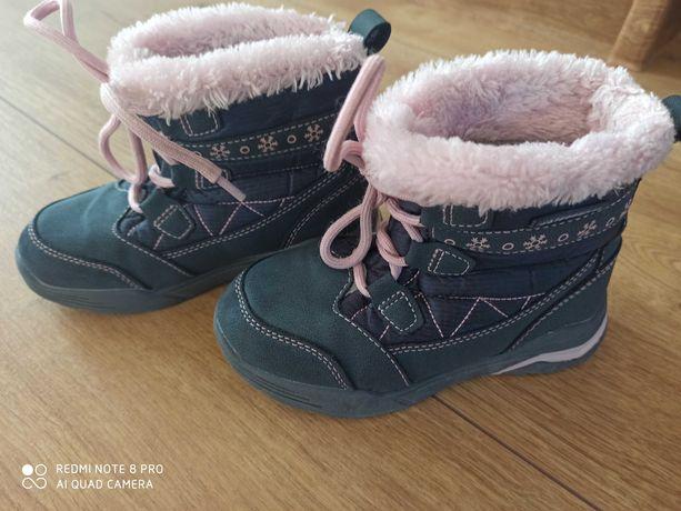 Buty zimowe śniegowce 27 Lupilu