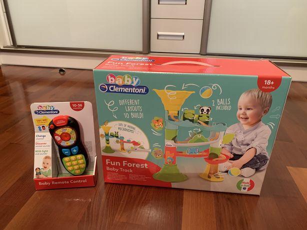 Nowe zapakowane zabawki fun forest baby truck i pilot Clementoni