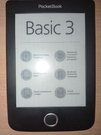 Электронная книга PocketBook Basic 3 б/у