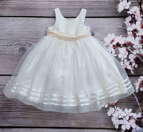 Нарядное пишное платье Next