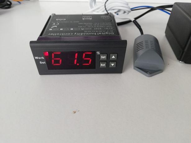 Higrostato digital com kit humidade