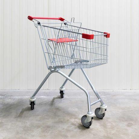 Wózki sklepowe. Wyposażenie sklepu. Szeroki wybór. Nowe. Gwarancja.