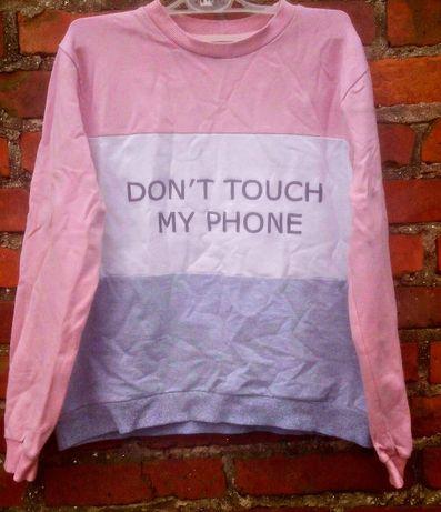 Pastelowa blogerska bluza