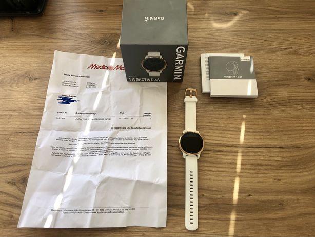 Zegarek sportowy GARMIN Vivoactive 4S Biały