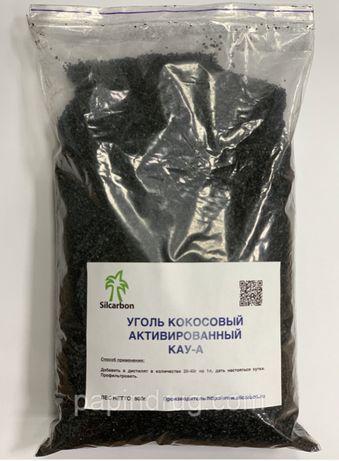 Пищевой кокосовый уголь для очистки дистиллятов