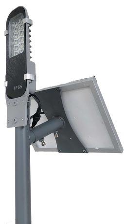 Lampa LED solarna uliczna 240W solar ramię w zestawie HURT-DETAL