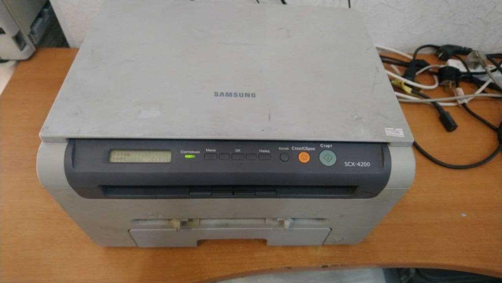 Принтер мфу Samsung scx 4200 идеальная печать Одесса - изображение 1