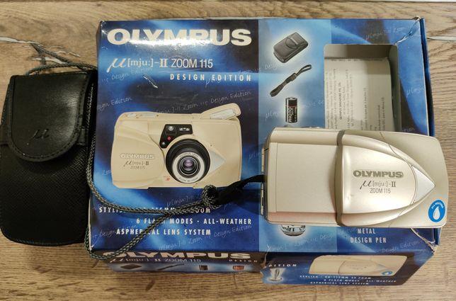Плёночный фотоаппарат Olympus mju II в идеальном состочнии
