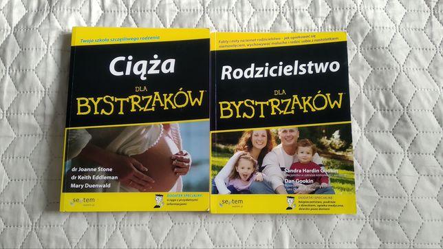 Nowy komplet książek Ciąża i Rodzicielstwo dla Bystrzaków