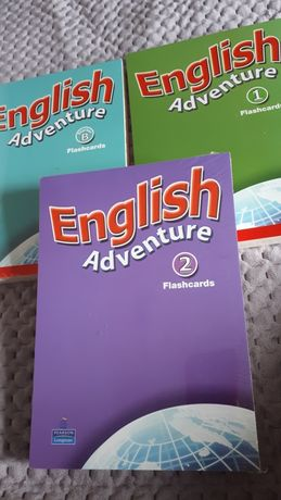 English adventure flashcards