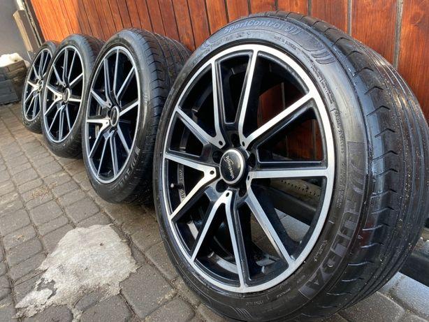 felgi wheelworld germany 18x8 et45 5x112 opony letnie  fulda 225/45 18