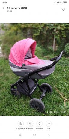 Коляска дитяча 2 в 1: люлька, візок