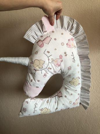 Подушка Единорог ,декор для детской