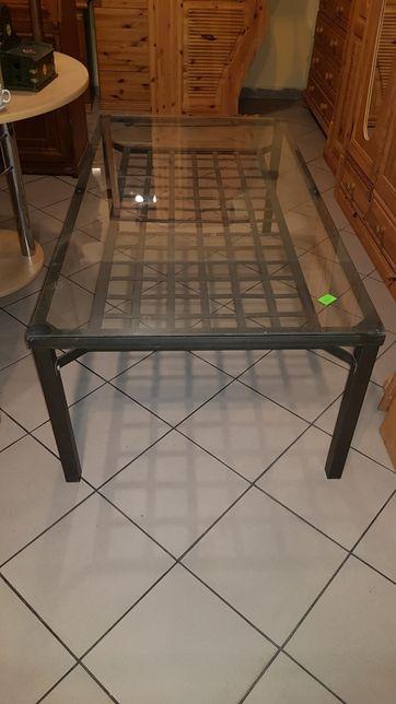 Ława stolik ze szklanym blatem