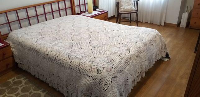 Colcha de crochet feita à mão BAIXA PREÇO