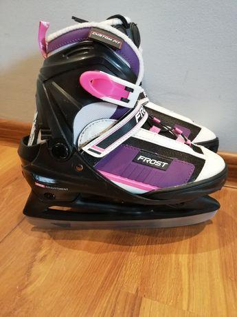 Dziecięce, juniorskie łyżwy regulowane Frost rozmiar 33-36