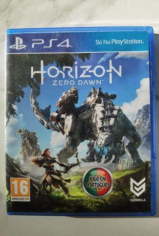 Jogo Horizon Zero Dawn para a PS4, como novo.
