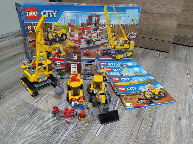 Lego 60076 rozbiórka, koparka
