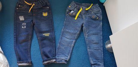 Spodnie jeansowe 2pary