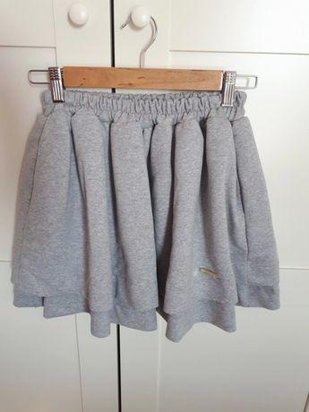 Nowa szara spódnica mini By Nicole 36 S