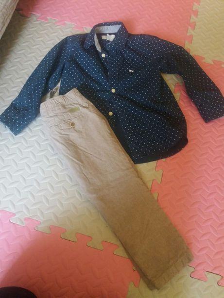 Koszula H&M spodnie Zara