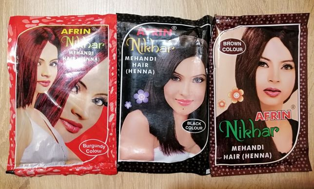 Хна для волос из Индии .Черный ,шоколадный,бургунди.