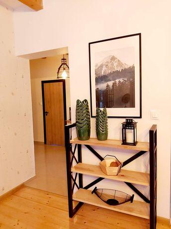 Mały regalik półka na książki loft industrial nowoczesny meble na zamo