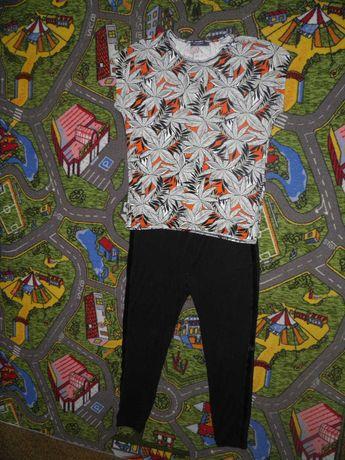 костюм штаны футболка ботал