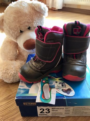 Продам зимние термо сапоги, ботинки B&G