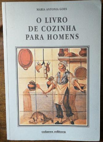 o livro de cozinha para homens, maria antonia goes, colares editora
