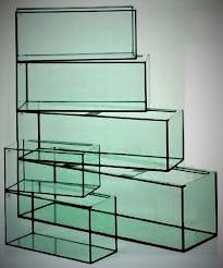 Akwarium proste 200L-100x40x50 szkło 8mm Wa-wa Producent