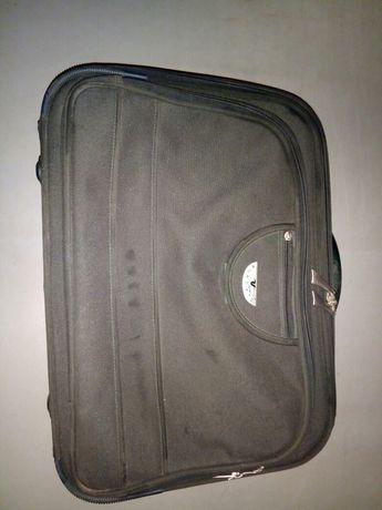 Чемодан Roncato без колес, сумка 450грн