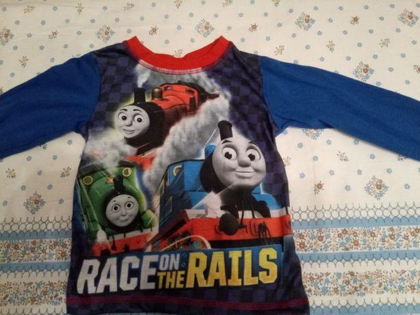 футболка Thomas&Friends з рукавчиком дитяча кофточка на 2-3 рочки