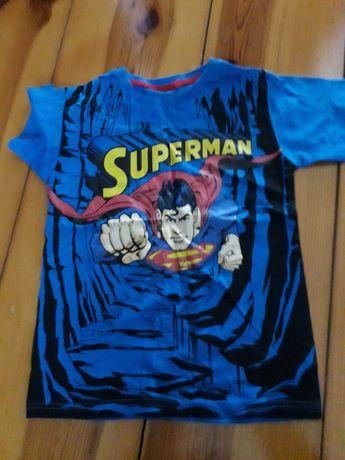 3 koszulki z bohaterami
