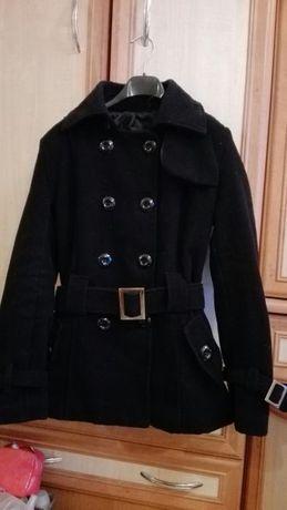 Czarny płaszczyk/kurtka