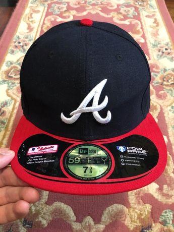 58.7 см NEW ERA Atlanta кепка бейсболка реперка снепбек snapback
