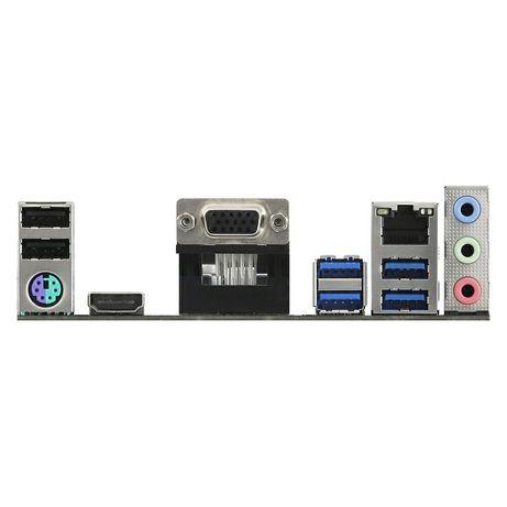 Материнка ASRock A520M-HVS [AM4, AMD A520, 2xDDR4-4733 МГц, 1xPCI-Ex16