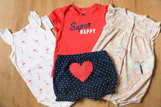 Летняя одежда на девочку 18-24мес carters есть новое